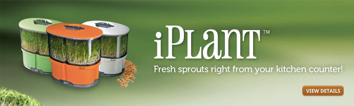 iPlant - Fresh sprouts right from your kitchen counter