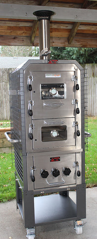 EcoQue Wood-Fired Pizza Oven & Smoker GENERATION 2!