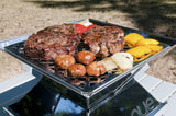 "EcoQue Portable 12"" Stainless Steel Grill"