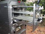 EcoQue Wood-Fired Pizza Oven & Smoker- GENERATION 2! OVEN Model for Built In Ready Locations(No Cart)