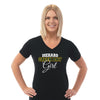 GB - Ladies V Neck Tee