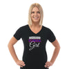 FL - Ladies V Neck Tee
