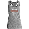 Diehard Seminoles Girl Ladies Sport-Tek Moisture Wicking Electric Heather Racerback Tank