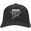 Diehard Michigan Girl Ladies' Port Authority Flex Fit Twill Baseball Cap