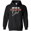 Diehard Seminoles Girl Ladies Gildan Pullover Hoodie 8 oz.