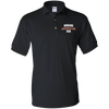 FLS Mens Gildan Jersey Polo Shirt