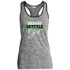Diehard Seattle Girl Ladies' Sport-Tek Moisture Wicking Electric Heather Racerback Tank