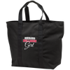 Diehard Bulldogs Girl Ladies' Port & Co. All Purpose Tote Bag