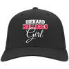 Diehard Bulldogs Girl Ladies' Port Authority Flex Fit Twill Baseball Cap