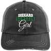 Diehard Seattle Girl Ladies' Distressed Unstructured Trucker Cap