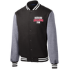 Diehard Bulldogs Fan Mens' Sport-Tek Fleece Letterman Jacket