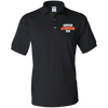 AUB Mens Gildan Jersey Polo Shirt