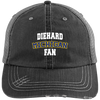 Diehard Michigan Fan Mens' Distressed Unstructured Trucker Cap