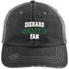 Diehard Seattle Fan Mens' Distressed Unstructured Trucker Cap
