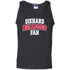 Diehard Bulldogs Fan Mens' 100% Cotton Tank Top