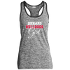 Diehard Bulldogs Girl Ladies Sport-Tek Moisture Wicking Electric Heather Racerback Tank
