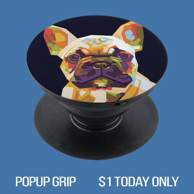 French Bulldog Puppy 02 PopUp Grip