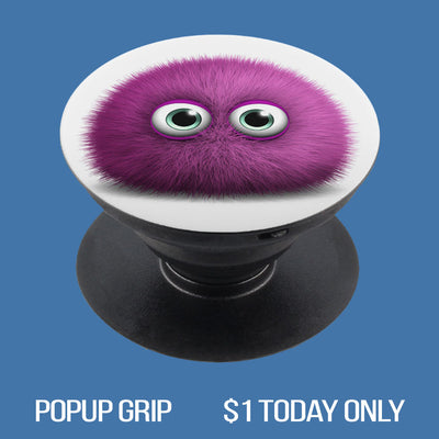 Fuzzy Monster 01 PopUp Grip