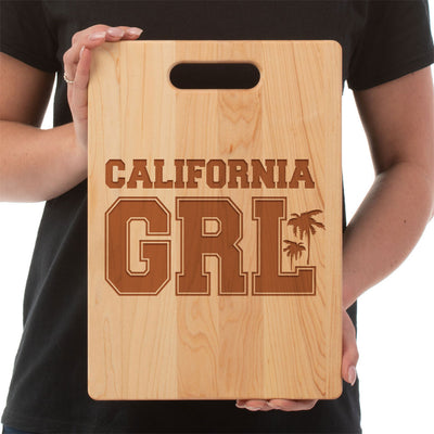California Girl - Cutting Board - Maple