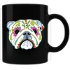 Sugar Skull Dogs 06 Coffee Mug - Black