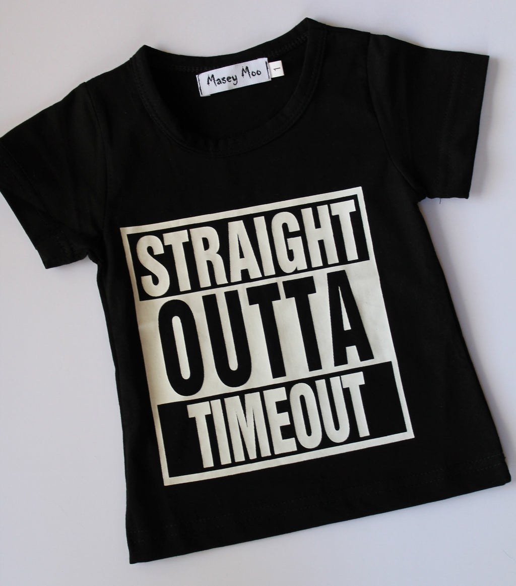 Straight Outta Timeout Tee