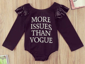Little Miss Vogue Romper