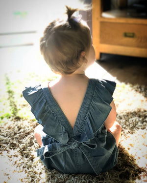 Dolly Denim Romper