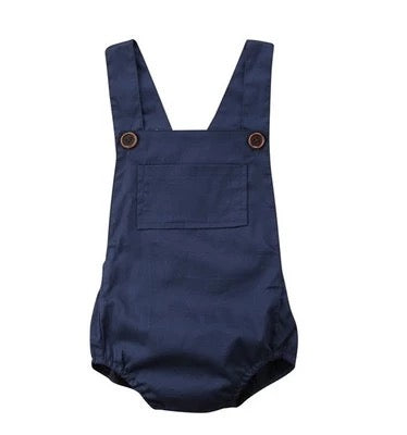 Navy Blues Romper