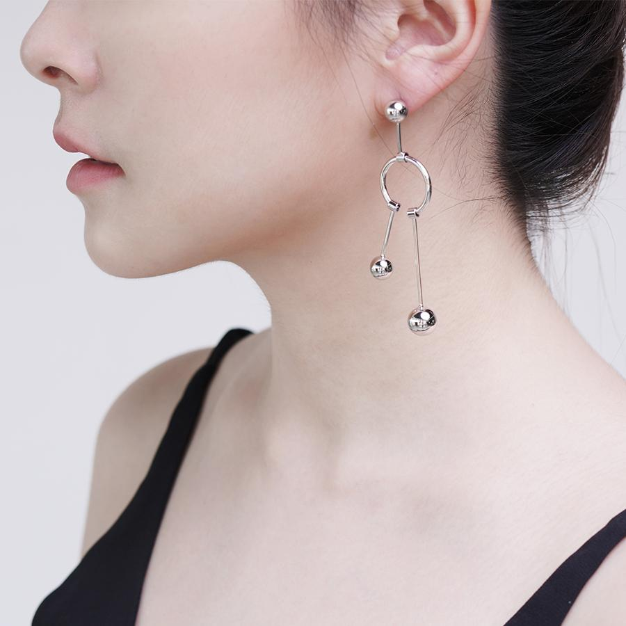 Pam Silver Earrings - Gung Jewellery
