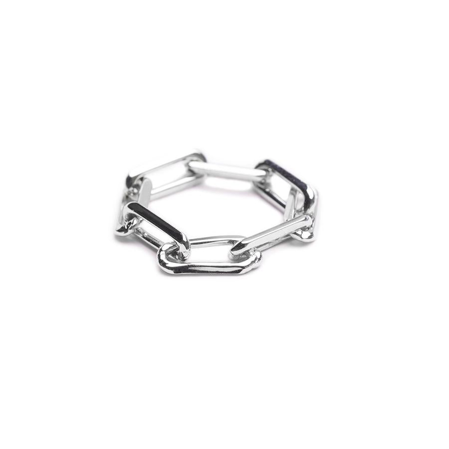 Arlo Chain Silver Ring