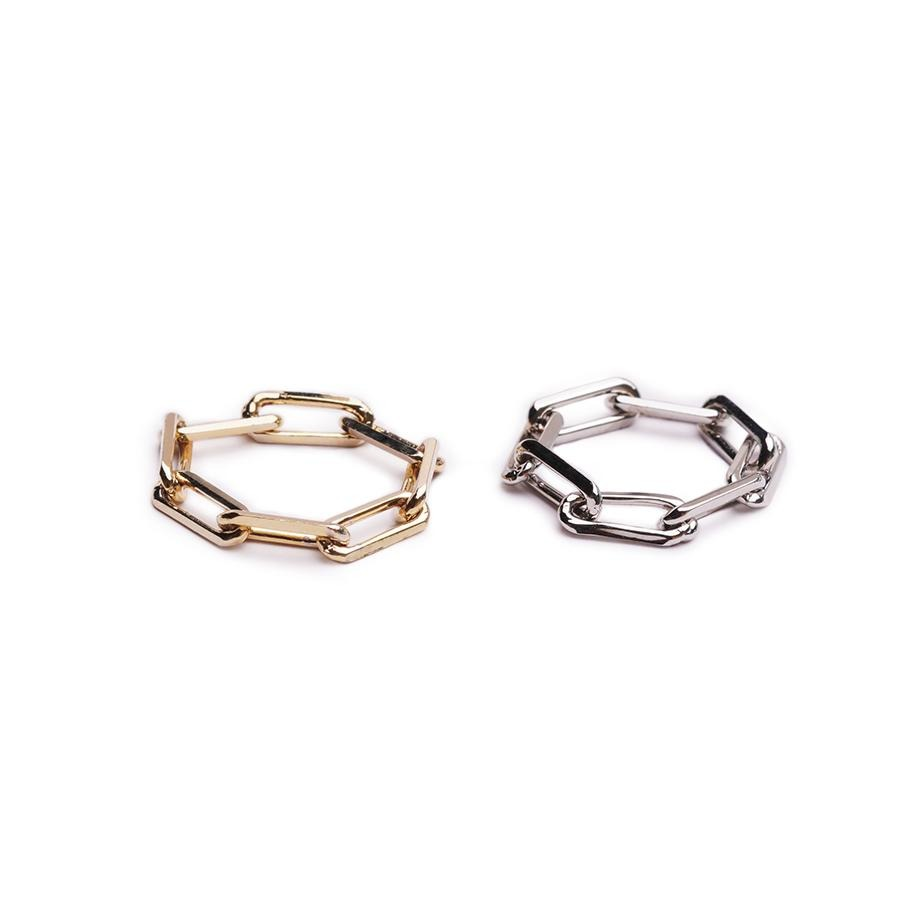 Arlo Chain Silver Ring - Gung Jewellery