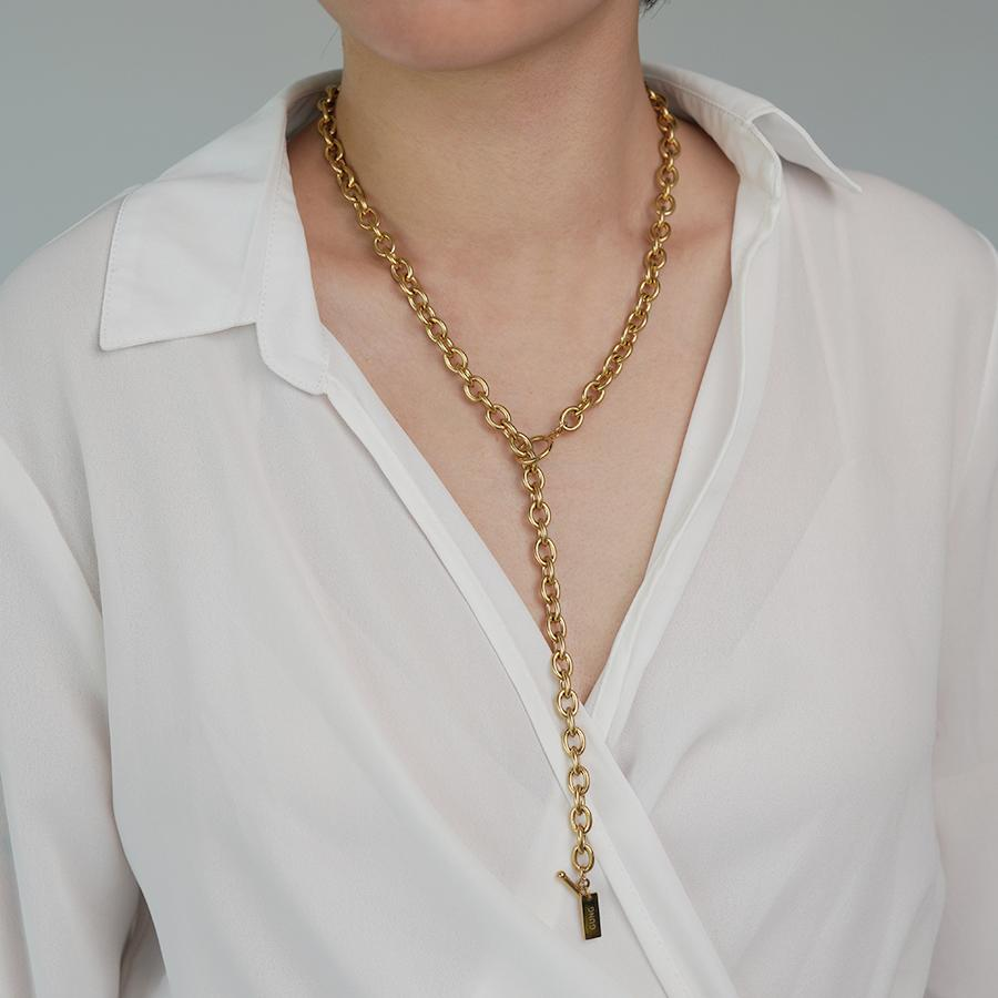 Xia Gold Chain Necklace