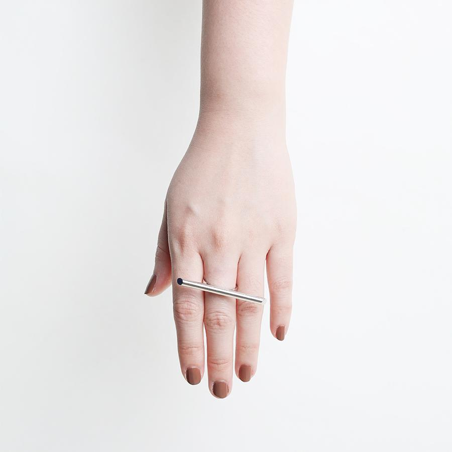 Bar Strip Silver Ring - Gung Jewellery
