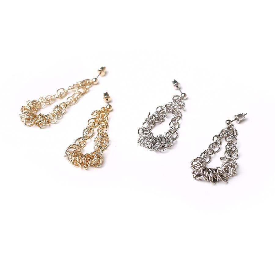 Zalia Twisted Earring - Gung Jewellery