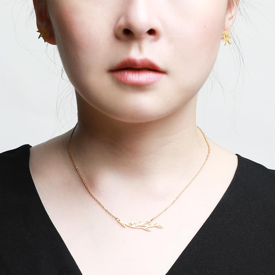 Maple Minimalist Necklace - Gung Jewellery