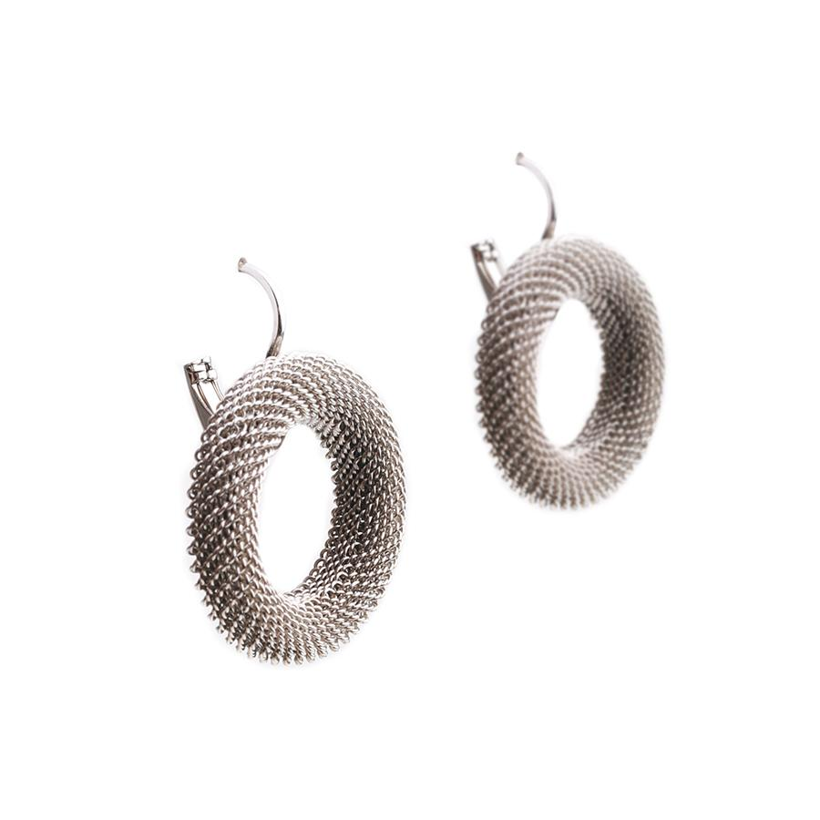 Nico Hoop Silver Earrings - Gung Jewellery