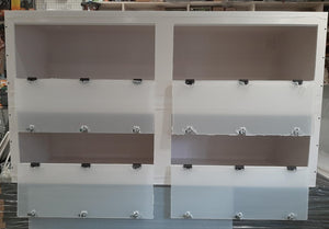 6 Feet PVC Enclosures Various Sizes