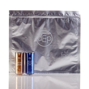 deppatch full face mask with two deluxe sized serums included