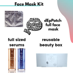 Full Face Mask - Up to 8 to 12 Treatments Kit