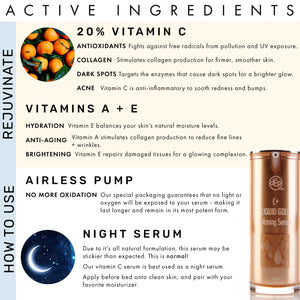 Liquid Gold 20% Vitamin C Serum