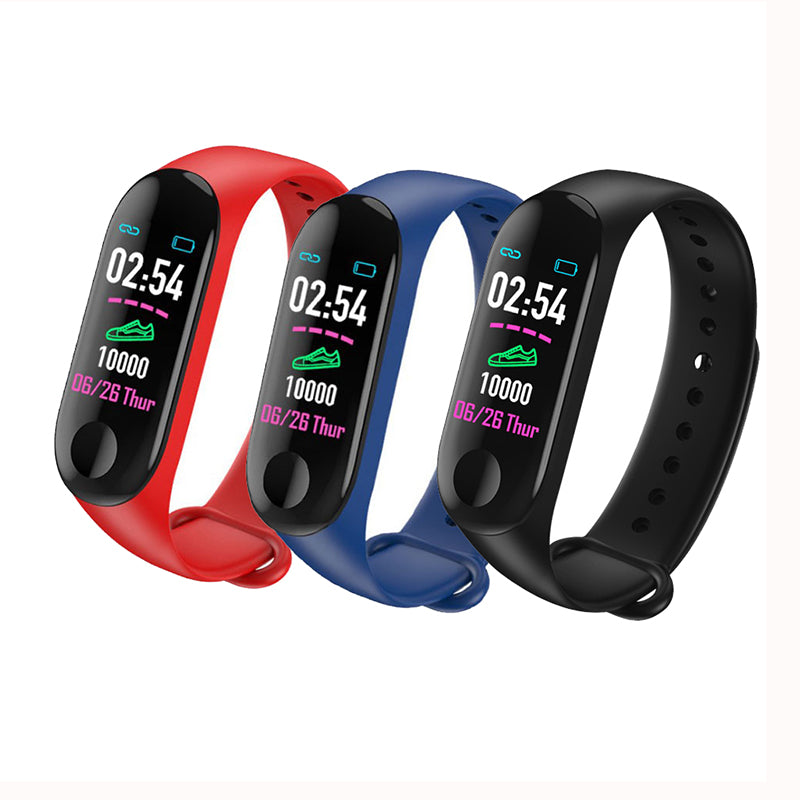 Sports Band Watch, Heart Rate Monitor, and Sleep Tracker