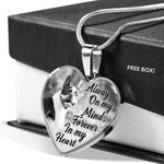 Boston Terrier Dog Remembrance Gift Necklace