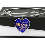 1 Year Anniversary Gifts For Wife - Together Forever Bracelet