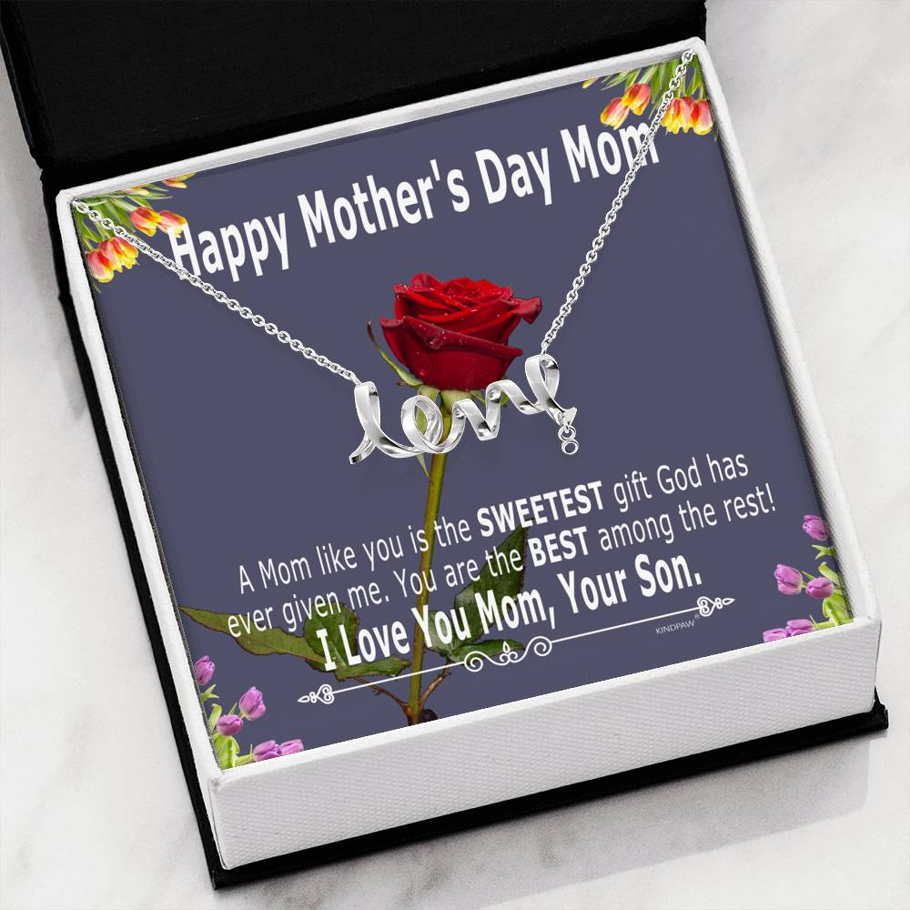 Mother's day gifts for mom from son