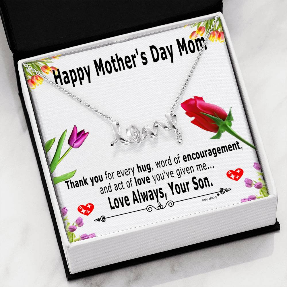 Mothers day presents for mom from son
