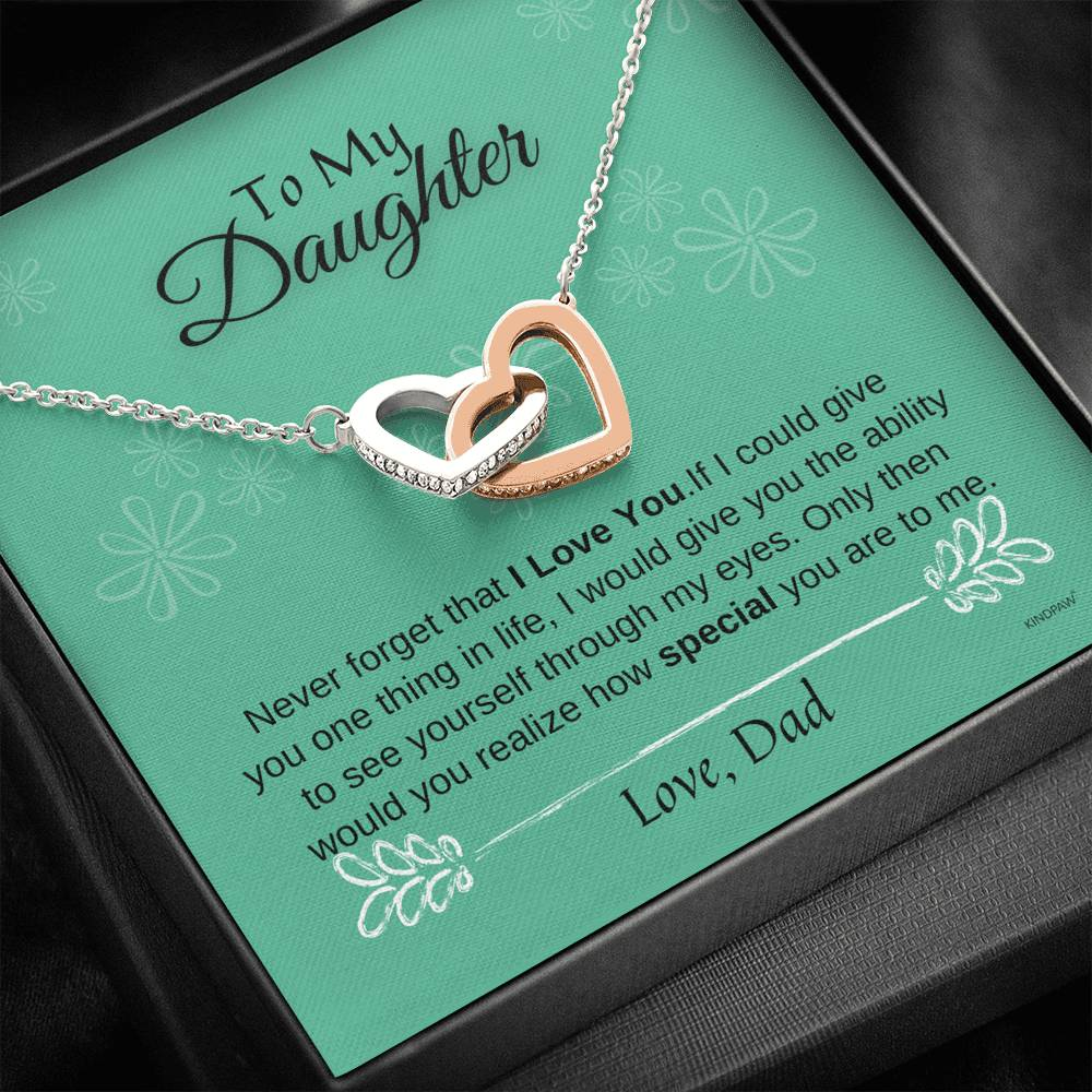 Father Daughter Necklace