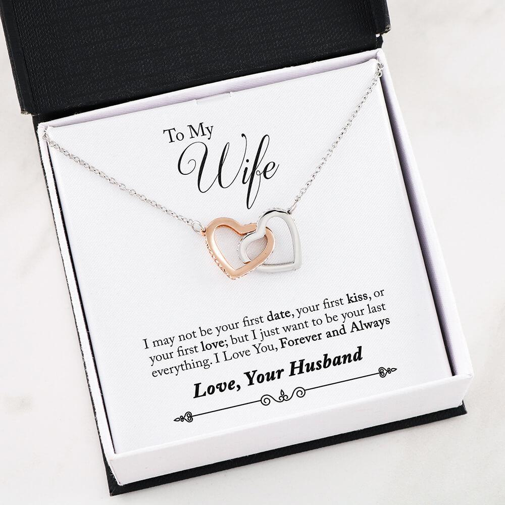 Christmas presents girlfriend - I may not be your first date gift necklace for fiance
