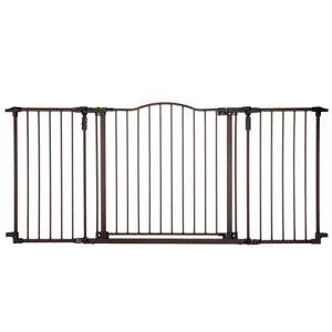 Deluxe Décor Wall Mounted Pet Gate
