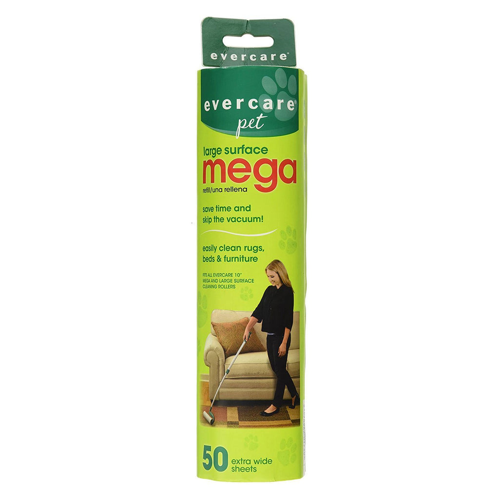Evercare Pet Extreme Stick Mega 50 Sheet Refill 10″ x 2.75″ x 2.75″