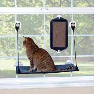 EZ Mount Cat Scratcher Brown / Black 7.5″ x 15.5″ x 1″